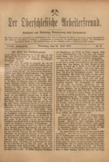 Der Oberschlesische Arbeiterfreund, 1917/1918, Jg. 18, No 47