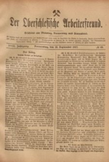 Der Oberschlesische Arbeiterfreund, 1917/1918, Jg. 18, No 69