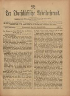 Der Oberschlesische Arbeiterfreund, 1915/1916, Jg. 16, No 57