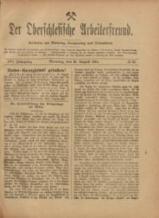 Der Oberschlesische Arbeiterfreund, 1915/1916, Jg. 16, No 61