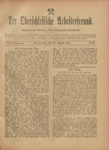 Der Oberschlesische Arbeiterfreund, 1915/1916, Jg. 16, No 62