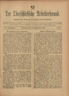 Der Oberschlesische Arbeiterfreund, 1915/1916, Jg. 16, No 70