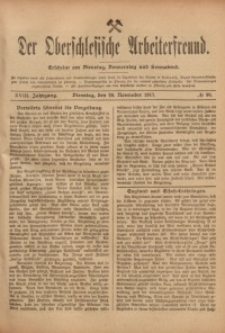 Der Oberschlesische Arbeiterfreund, 1917/1918, Jg. 18, No 98