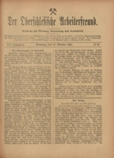 Der Oberschlesische Arbeiterfreund, 1915/1916, Jg. 16, No 82
