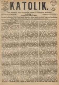 Katolik, 1878, R. 11, nr 27