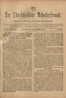 Der Oberschlesische Arbeiterfreund, 1917/1918, Jg. 18, No 113