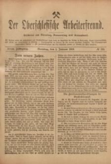 Der Oberschlesische Arbeiterfreund, 1917/1918, Jg. 18, No 115