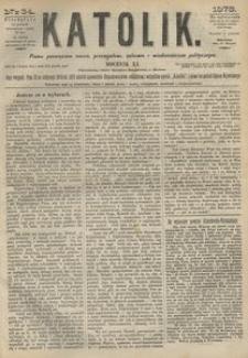 Katolik, 1878, R. 11, nr 34