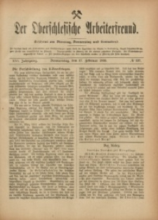 Der Oberschlesische Arbeiterfreund, 1915/1916, Jg. 16, No 137