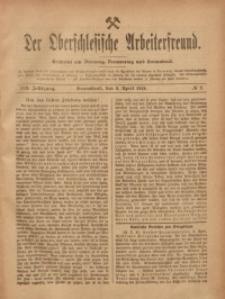 Der Oberschlesische Arbeiterfreund, 1918/1919, Jg. 19, No 2