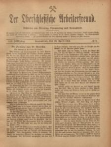 Der Oberschlesische Arbeiterfreund, 1918/1919, Jg. 19, No 8
