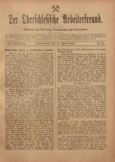 Der Oberschlesische Arbeiterfreund, 1918/1919, Jg. 19, No 11