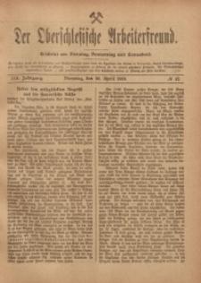 Der Oberschlesische Arbeiterfreund, 1918/1919, Jg. 19, No 12