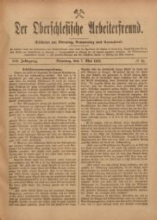 Der Oberschlesische Arbeiterfreund, 1918/1919, Jg. 19, No 15