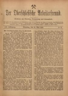 Der Oberschlesische Arbeiterfreund, 1918/1919, Jg. 19, No 18