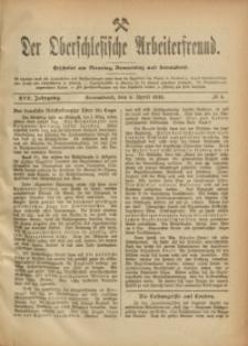 Der Oberschlesische Arbeiterfreund, 1916/1917, Jg. 17, No 4