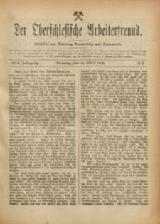 Der Oberschlesische Arbeiterfreund, 1916/1917, Jg. 17, No 5