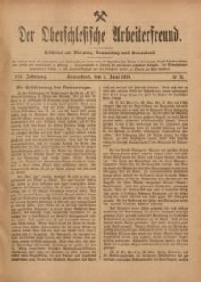 Der Oberschlesische Arbeiterfreund, 1918/1919, Jg. 19, No 25