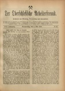 Der Oberschlesische Arbeiterfreund, 1916/1917, Jg. 17, No 14