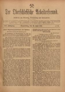 Der Oberschlesische Arbeiterfreund, 1918/1919, Jg. 19, No 33