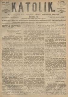 Katolik, 1878, R. 11, nr 43