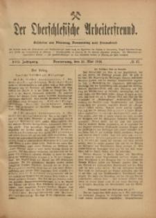 Der Oberschlesische Arbeiterfreund, 1916/1917, Jg. 17, No 17