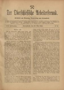 Der Oberschlesische Arbeiterfreund, 1916/1917, Jg. 17, No 21