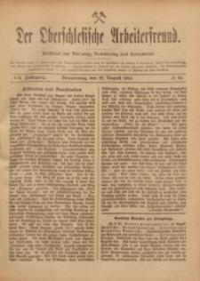 Der Oberschlesische Arbeiterfreund, 1918/1919, Jg. 19, No 60