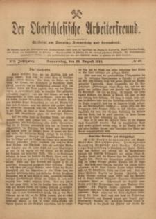 Der Oberschlesische Arbeiterfreund, 1918/1919, Jg. 19, No 63