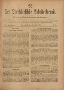 Der Oberschlesische Arbeiterfreund, 1916/1917, Jg. 17, No 47