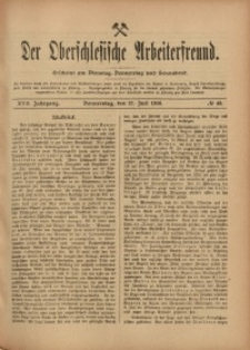 Der Oberschlesische Arbeiterfreund, 1916/1917, Jg. 17, No 49