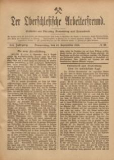 Der Oberschlesische Arbeiterfreund, 1918/1919, Jg. 19, No 69