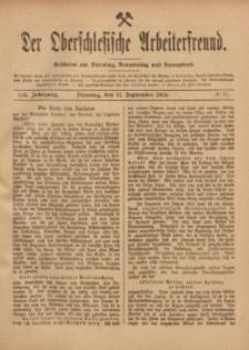 Der Oberschlesische Arbeiterfreund, 1918/1919, Jg. 19, No 71