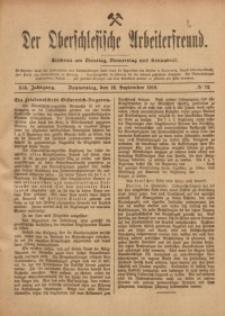 Der Oberschlesische Arbeiterfreund, 1918/1919, Jg. 19, No 72