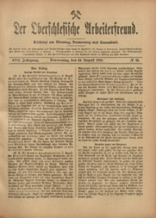Der Oberschlesische Arbeiterfreund, 1916/1917, Jg. 17, No 55