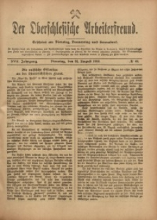 Der Oberschlesische Arbeiterfreund, 1916/1917, Jg. 17, No 60