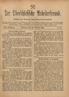 Der Oberschlesische Arbeiterfreund, 1918/1919, Jg. 19, No 89