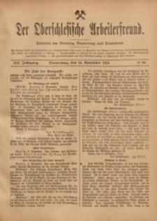 Der Oberschlesische Arbeiterfreund, 1918/1919, Jg. 19, No 96