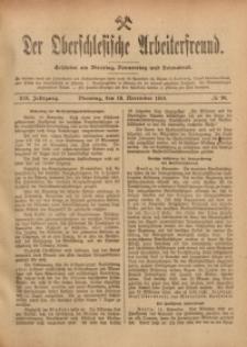 Der Oberschlesische Arbeiterfreund, 1918/1919, Jg. 19, No 98