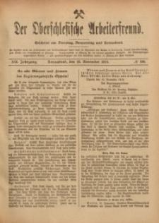 Der Oberschlesische Arbeiterfreund, 1918/1919, Jg. 19, No 100