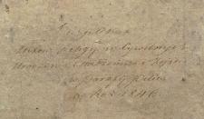 Księga urodzeń, małżeństw i zgonów Pilica 1846