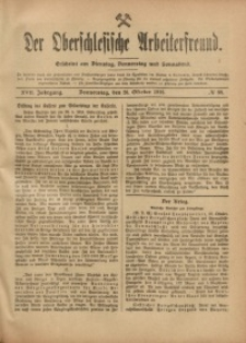 Der Oberschlesische Arbeiterfreund, 1916/1917, Jg. 17, No 88