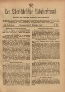 Der Oberschlesische Arbeiterfreund, 1918/1919, Jg. 19, No 110