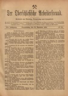 Der Oberschlesische Arbeiterfreund, 1918/1919, Jg. 19, No 111