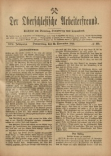 Der Oberschlesische Arbeiterfreund, 1916/1917, Jg. 17, No 100