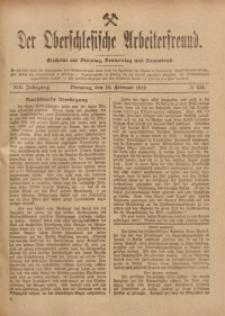 Der Oberschlesische Arbeiterfreund, 1918/1919, Jg. 19, No 136