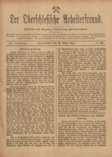 Der Oberschlesische Arbeiterfreund, 1918/1919, Jg. 19, No 150
