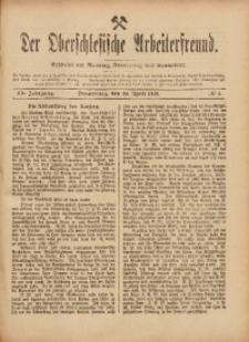 Der Oberschlesische Arbeiterfreund, 1919, Jg. 20, No 5