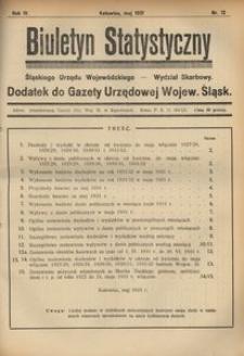 Biuletyn Statystyczny, 1931 R. 3, nr 12