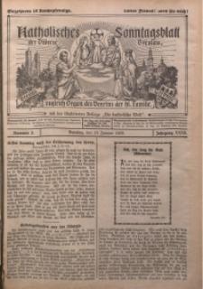 Katholisches Sonntagsblatt der Diöcese Breslau, 1926, Jg. 32, nr 2
